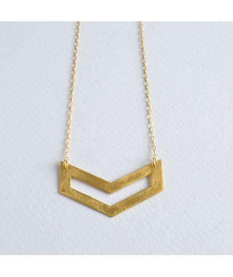 goud vergulde ketting FIGURES by Fleurfatale