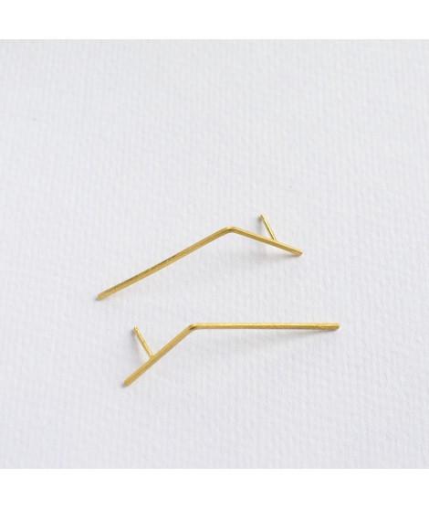 Folded guden oorstekers stokjes by Fleurfatale