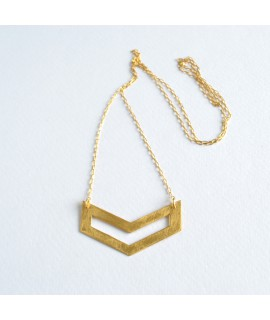 goud vergulde ketting FIGURES by Fleurfatale