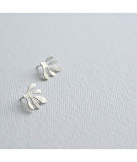 SIREN sterling zilveren oorbellen  by Fleurfatale