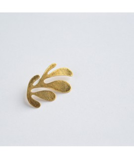 SIREN broche in verguld zilver by Fleurfatale
