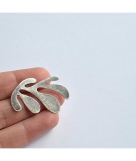 SIREN zilveren broche by Fleurfatale