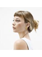 GEOMETRICS zilveren oorbellen by Fleurfatale