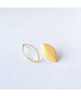 ASSYMETRIC goud vergulde druppels by Fleurfatale