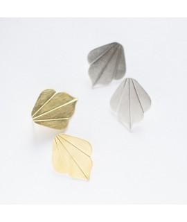 FRIDA  goudverguldde oorbellen by Fleurfatale