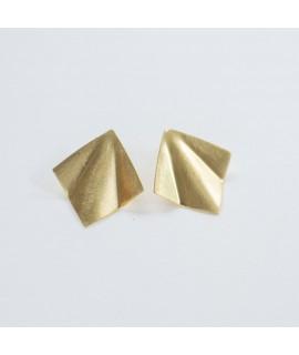 FRIDA goudvergulde oorbellen  by Fleurfatale