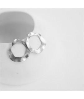 AMINA oorbellencin zilver  by Fleurfatale