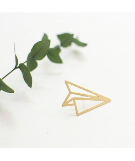 FLY - zilveren goudvergulde  Broche of pin by Fleurfatale