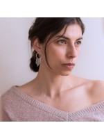 AYMARA  Goud vergulde statement oorbellen  inca by Fleurfatale